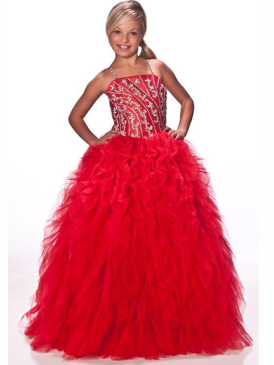 102f1856c51 Красное платье для девочки  100+ фото красивых фасонов и моделей