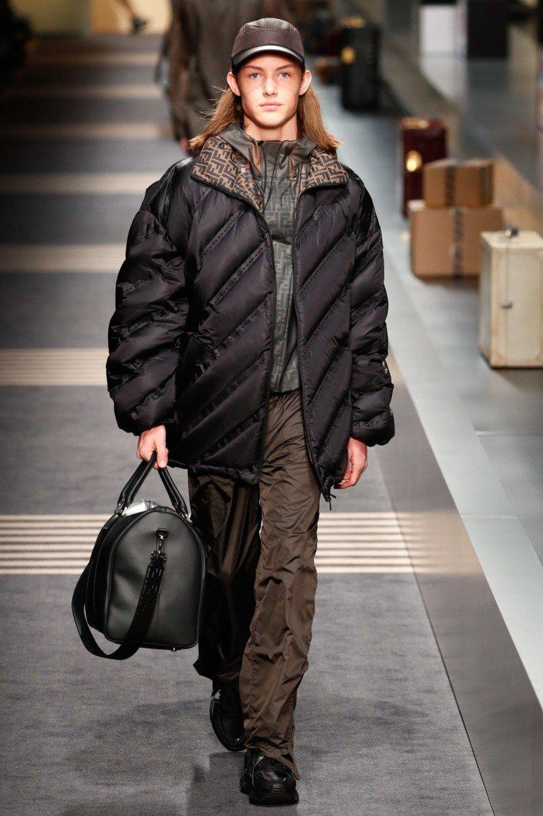 Осенние стеганные мужские куртки 2019