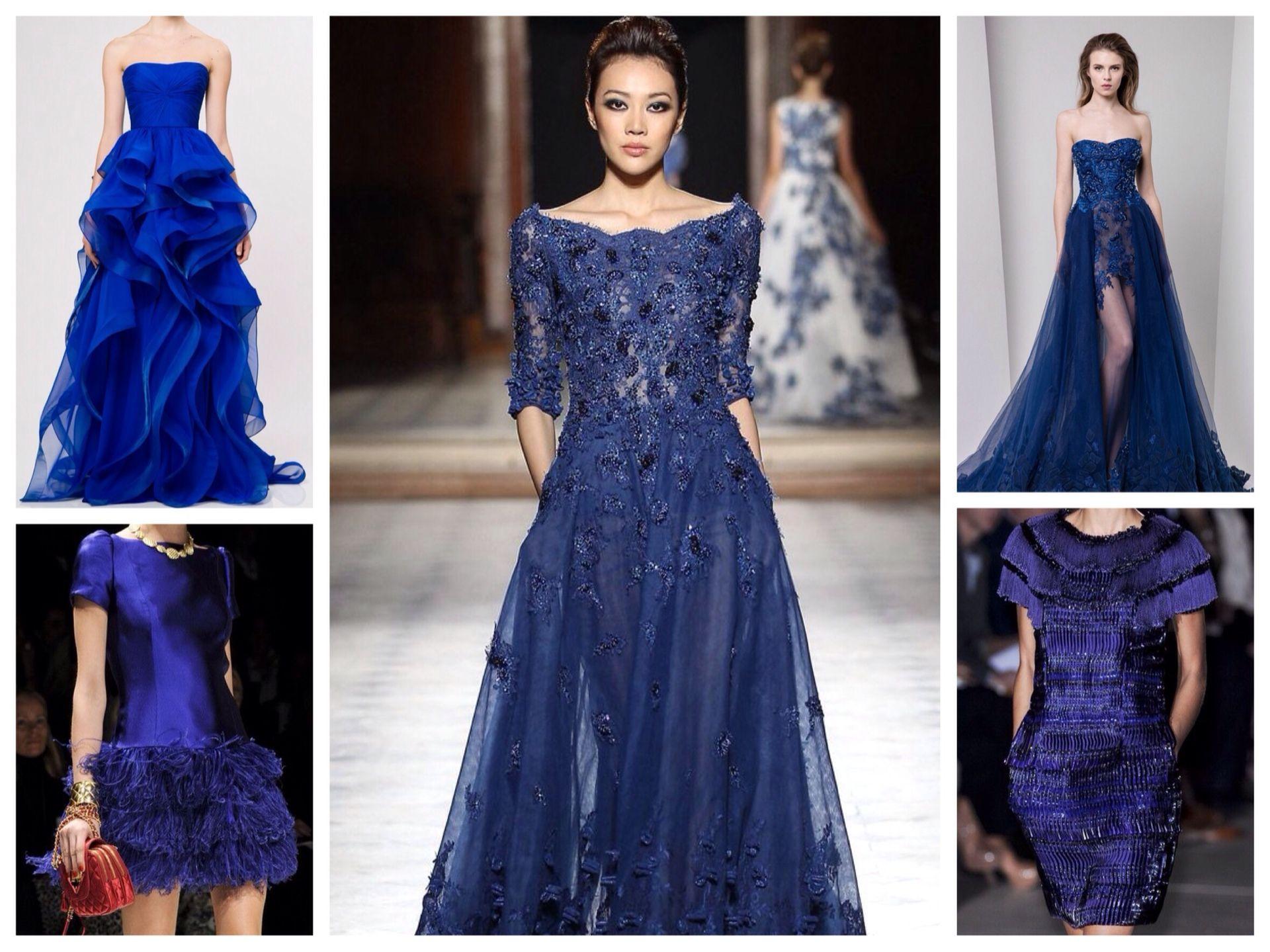 d16a7f41c5e Синее платье  фото бесподобных новинок для женщин