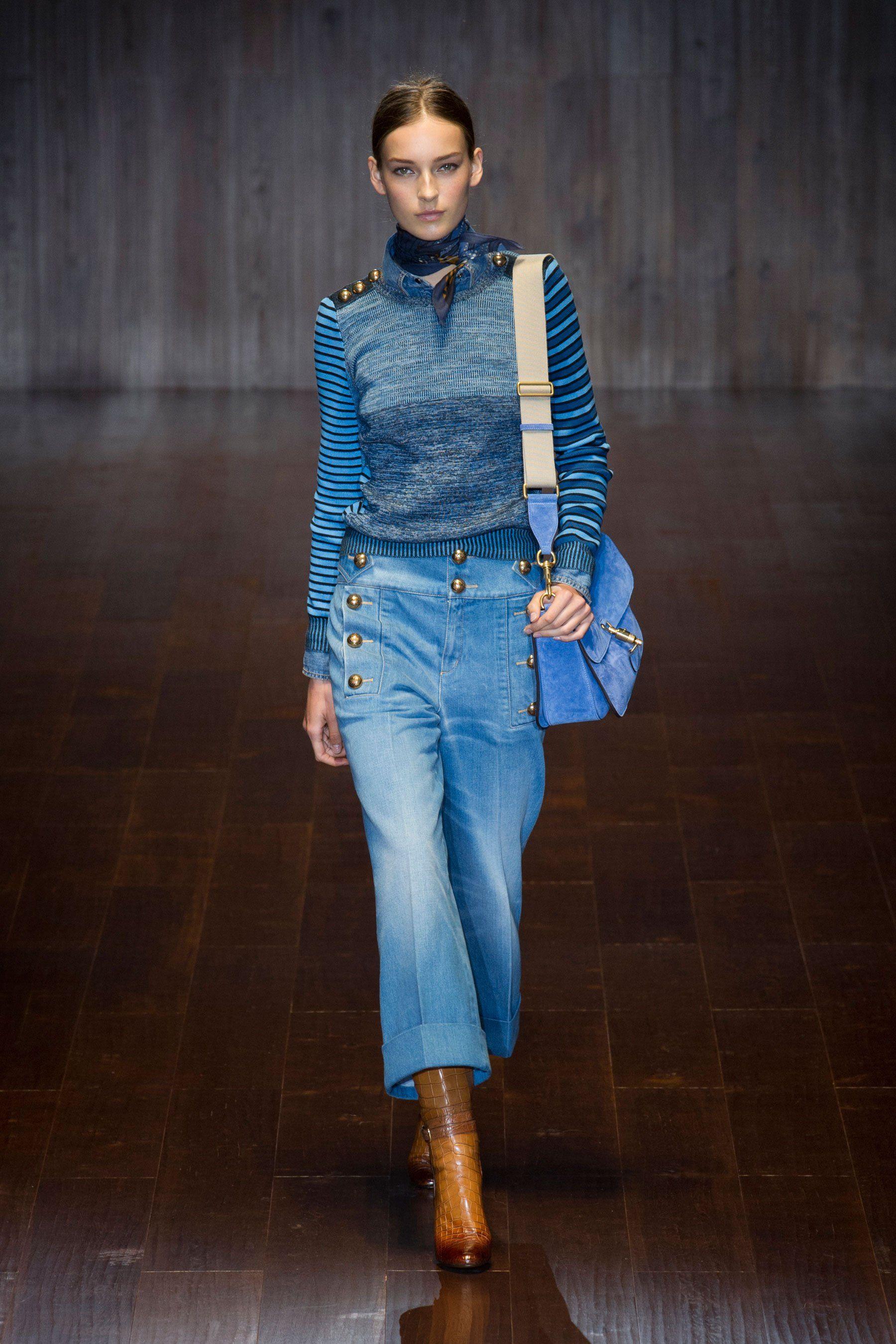 Модные джинсы осень-зима 2018-2019: тенденции, фото