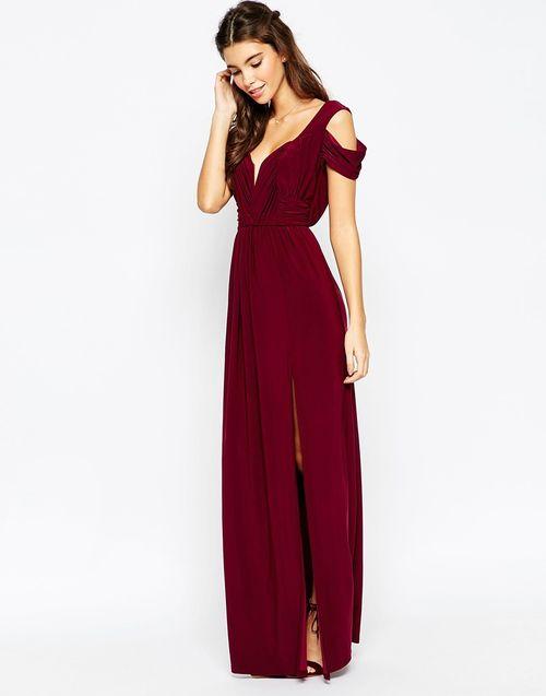 Картинки по запросу бордовое платье