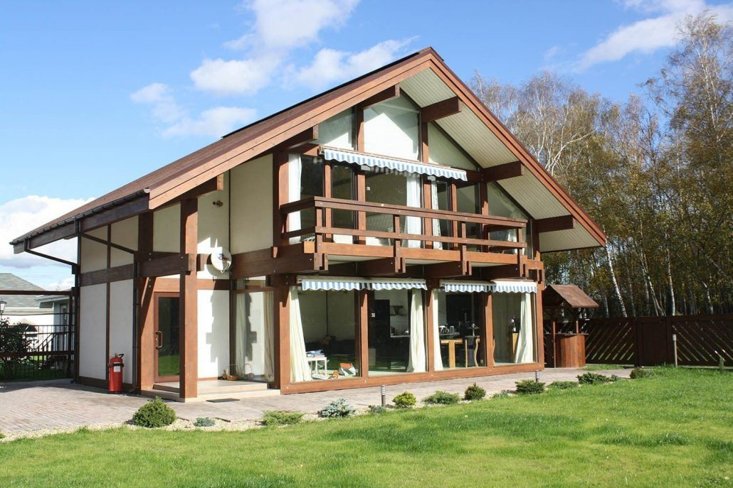 Виды отделок фасадов частных домов