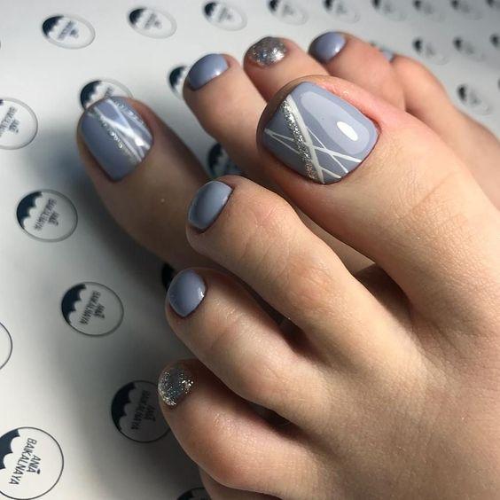 Идеи модного педикюра на лето 2019 года
