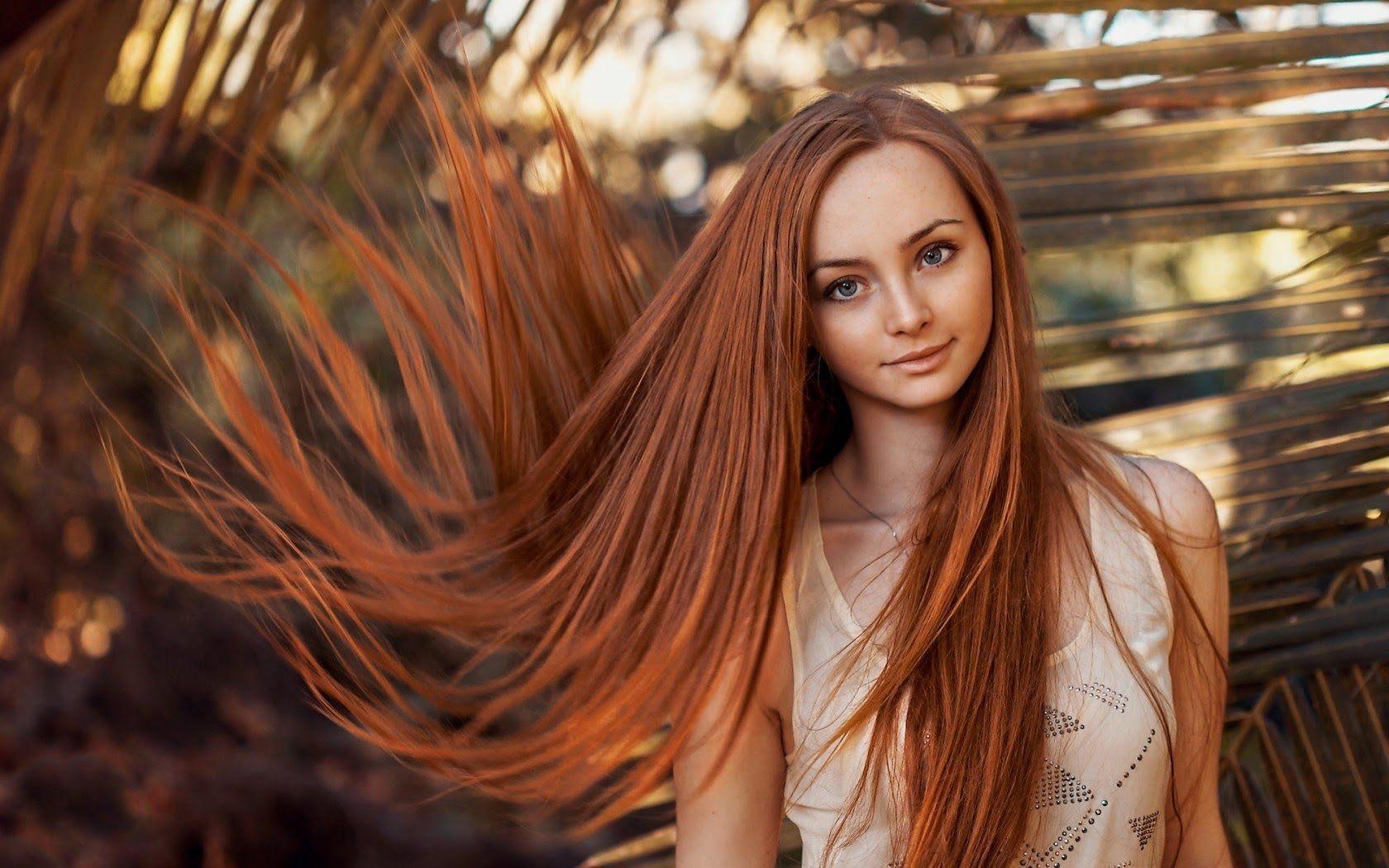 Покрас волос на длинные волосы