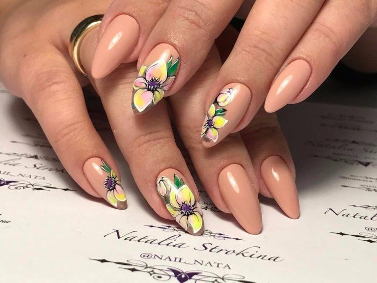 Миндальные ногти 23: 23+ лучших фото-идей модного дизайна