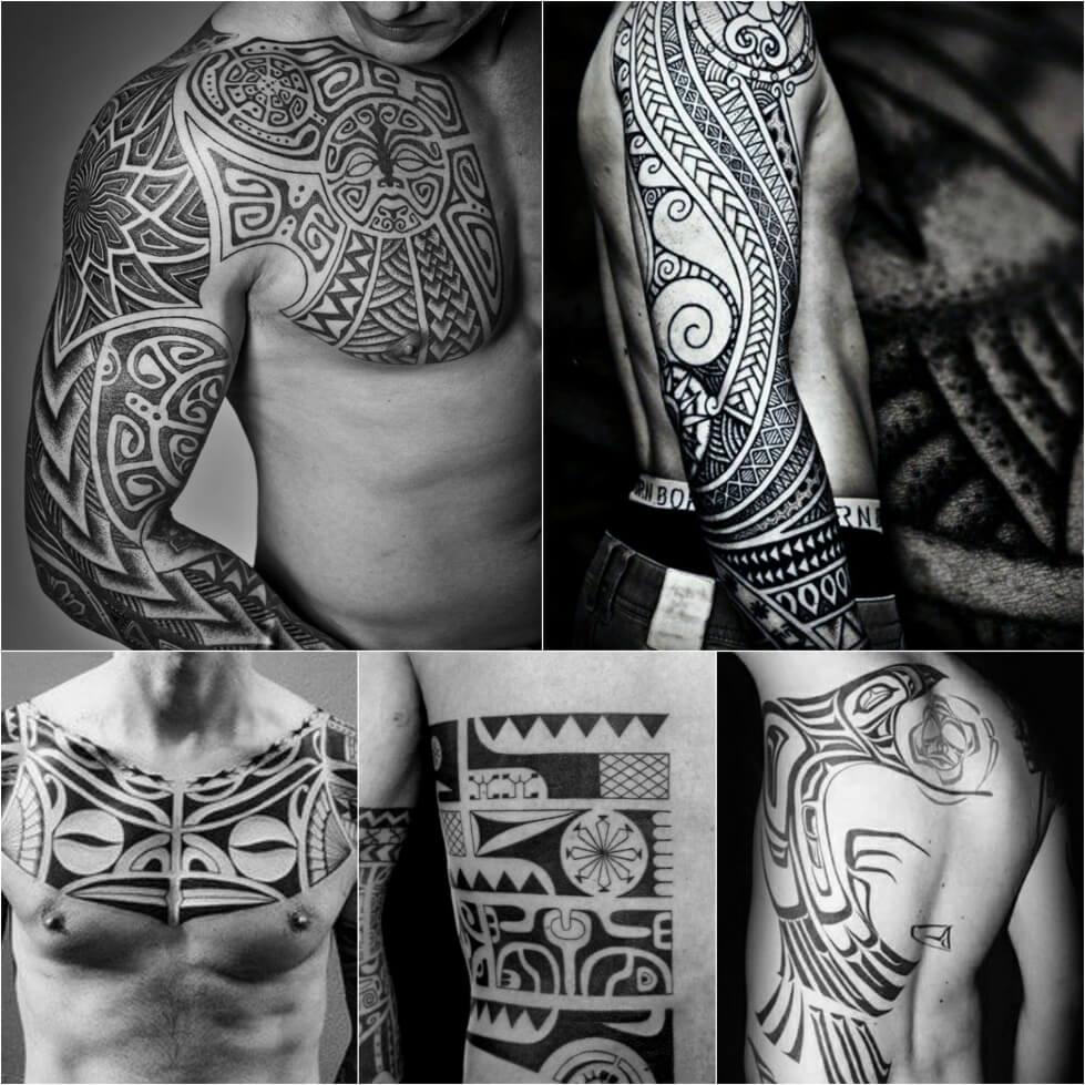 Stupefacente кельтские узоры тату рукав