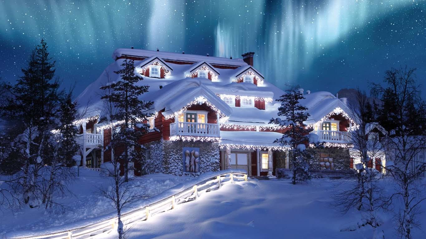 Фантастические фото зимы и нового года
