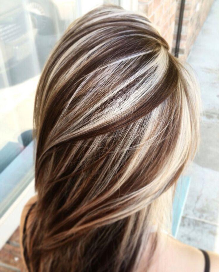 примеры мелирования волос фото