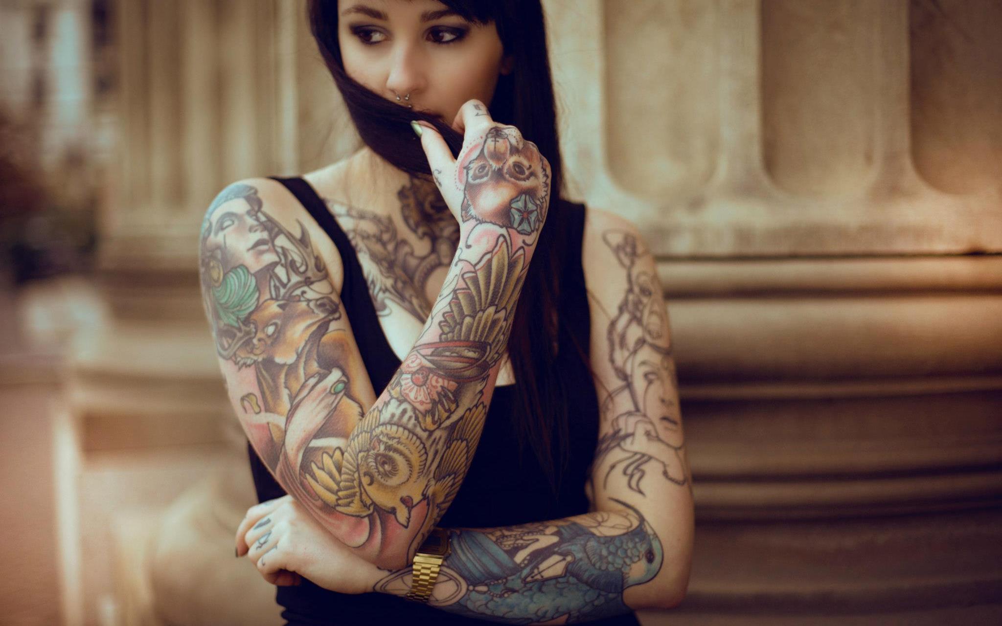 Sxy tattoo girls 9