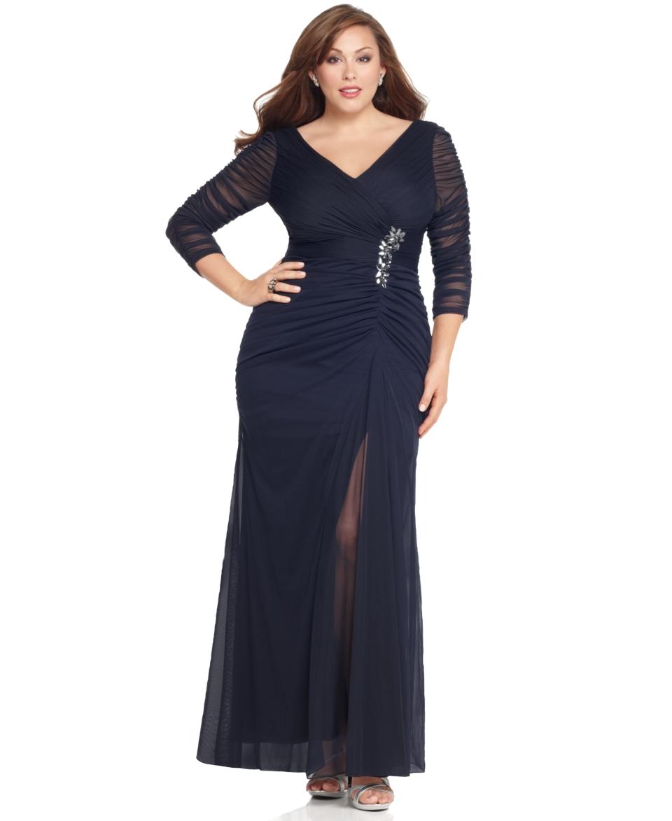 12553601b2d Вечерние платья для полных (100 фото) - новинки