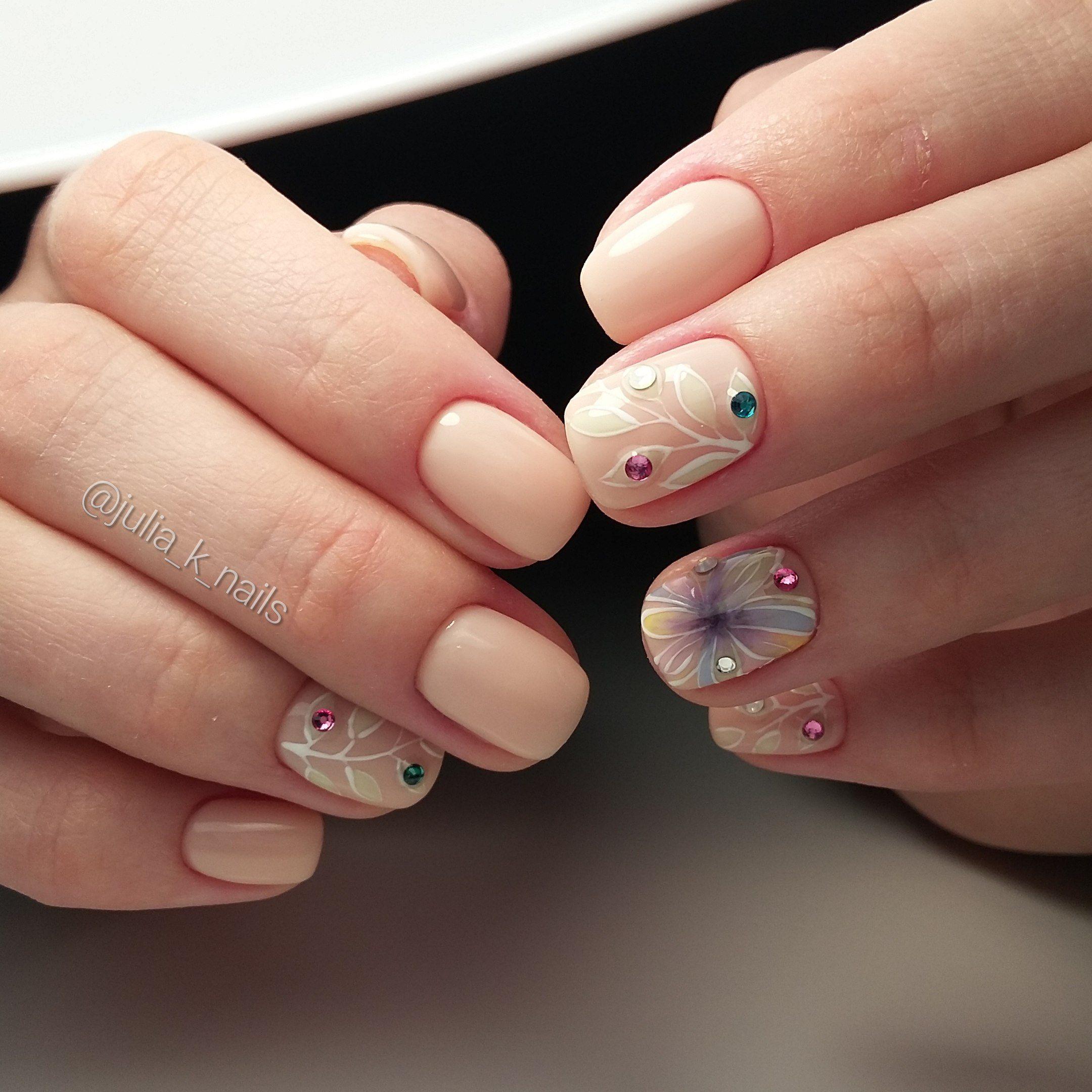 тенденция дизайн коротких ногтей 24 фото новинки