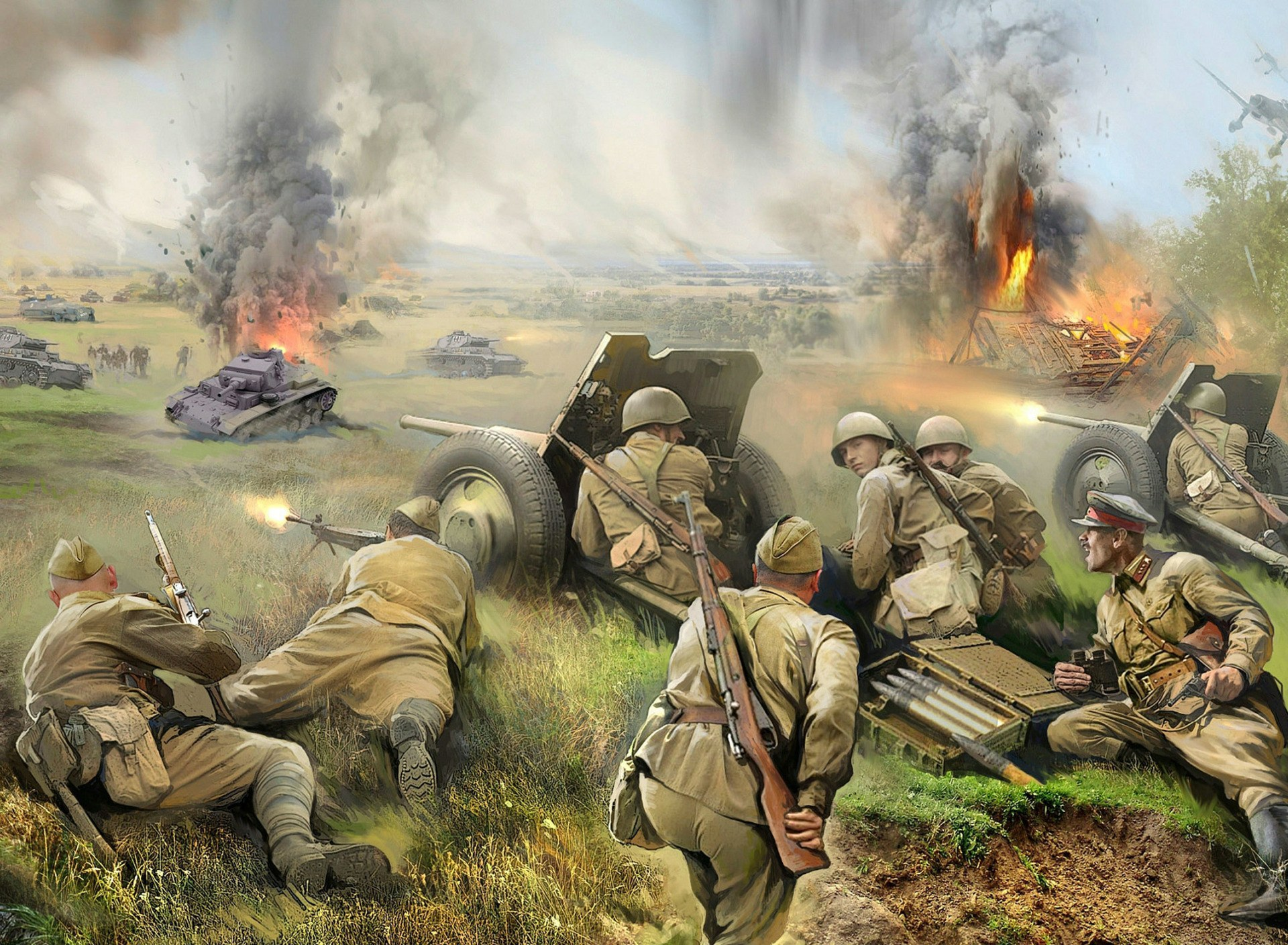 картинки на военную тему 1941-1945 помню