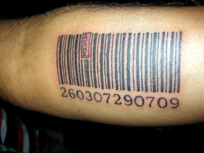 этом разделе фото тату штрих код на кисти тех