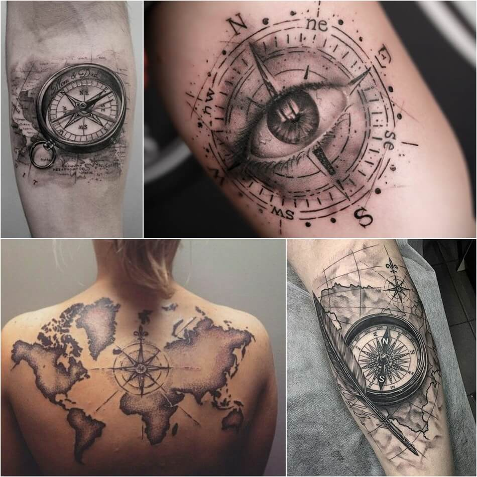 Di moda значение тату компас