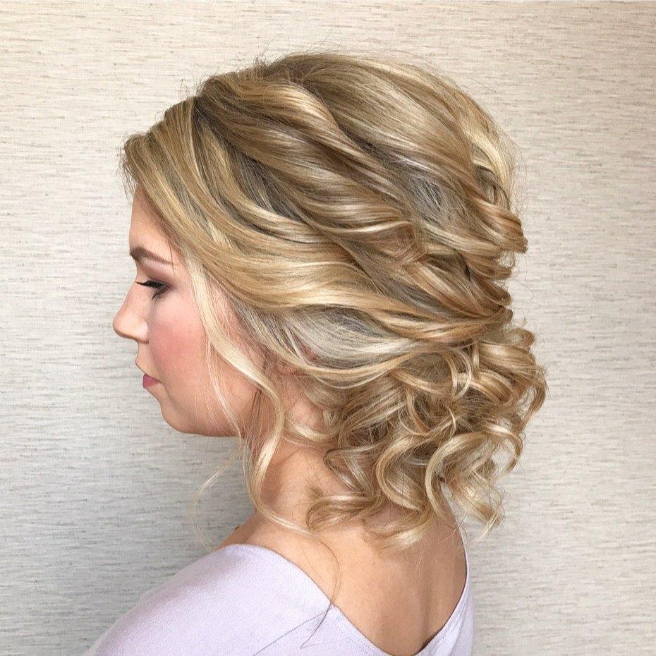 что прически на средние волосы фото женские вечерние помощью такой задумки