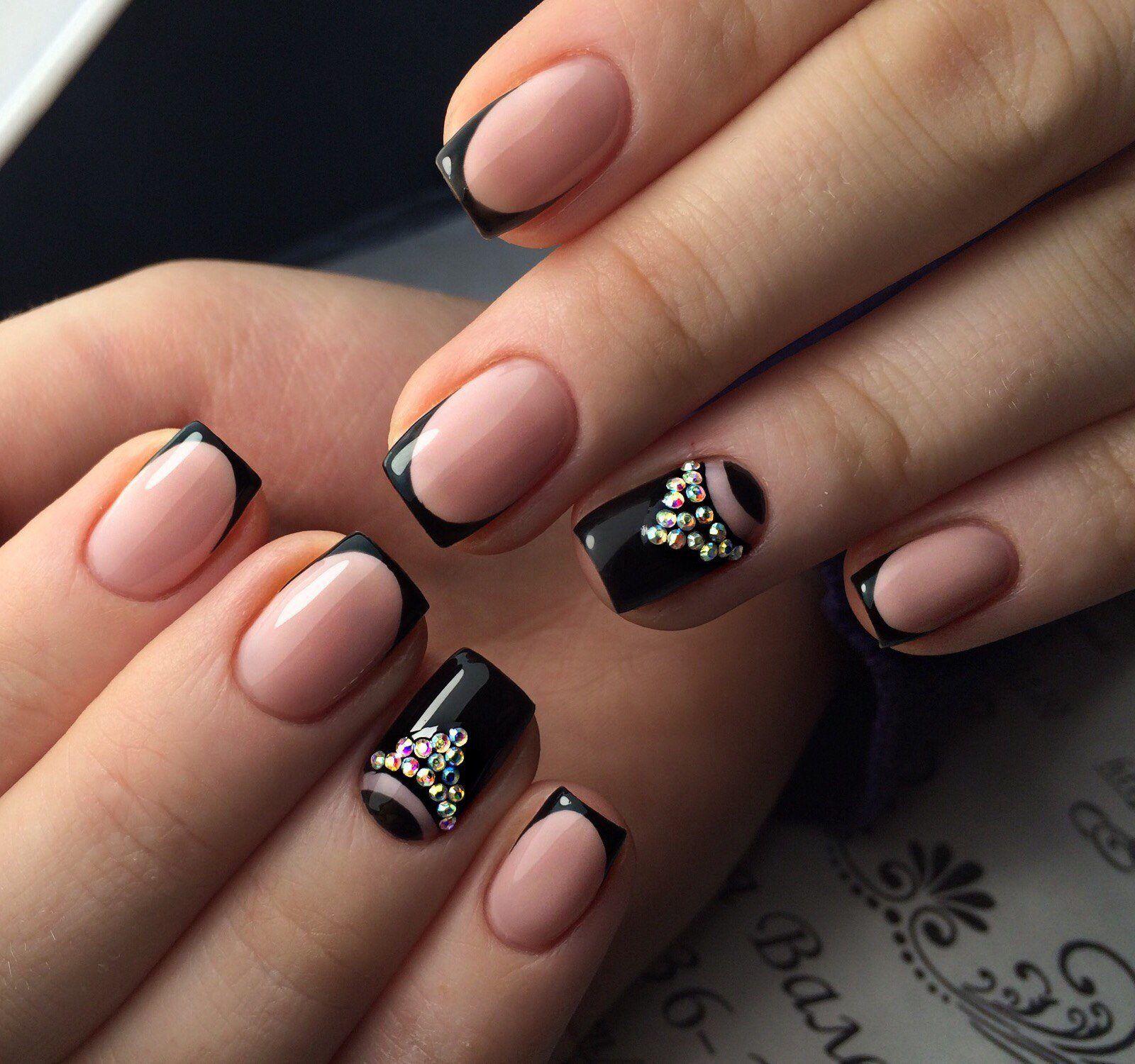 Квадратные нарощенные ногти: фото дизайнов 2014 | 1500x1600