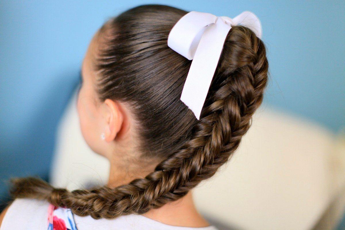 Косички и косы на 1 сентября модные тенденции фото