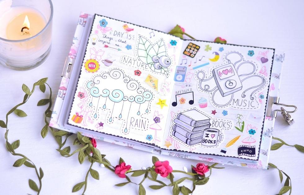 Картинки как вести дневник