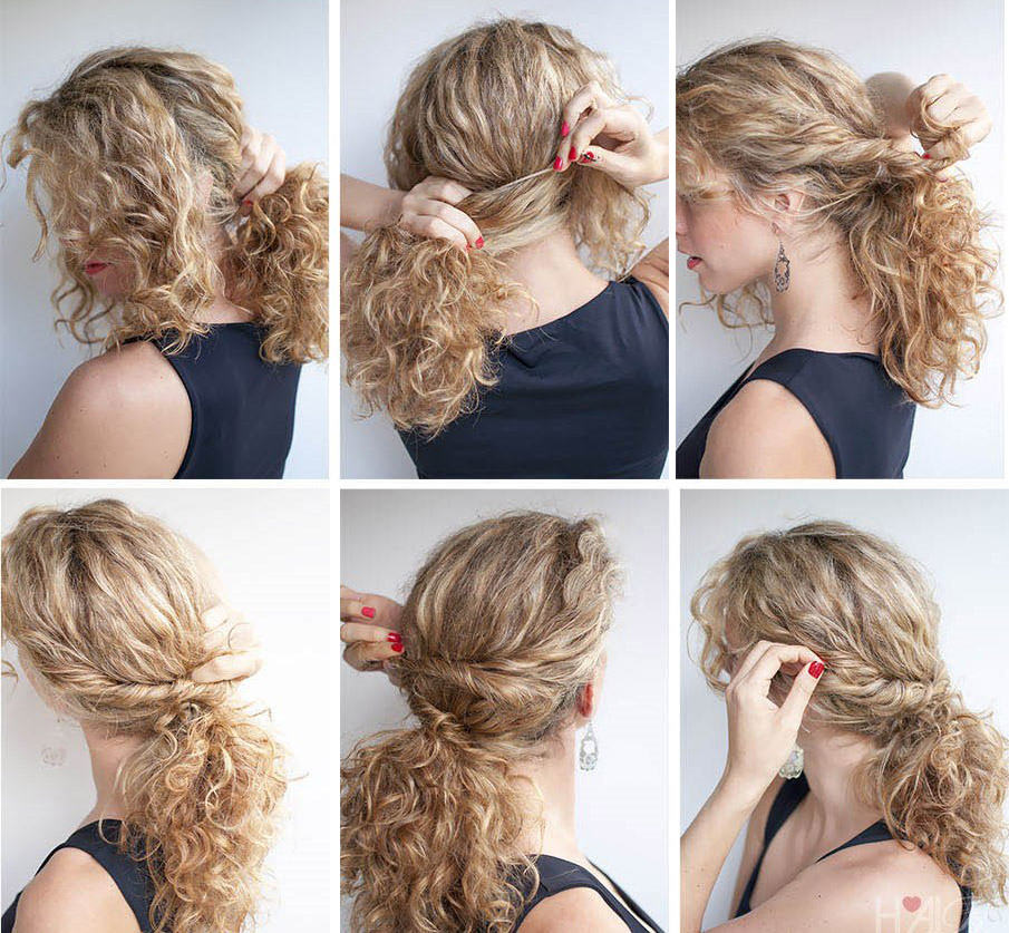 простые укладки на средние волосы фото данил надел