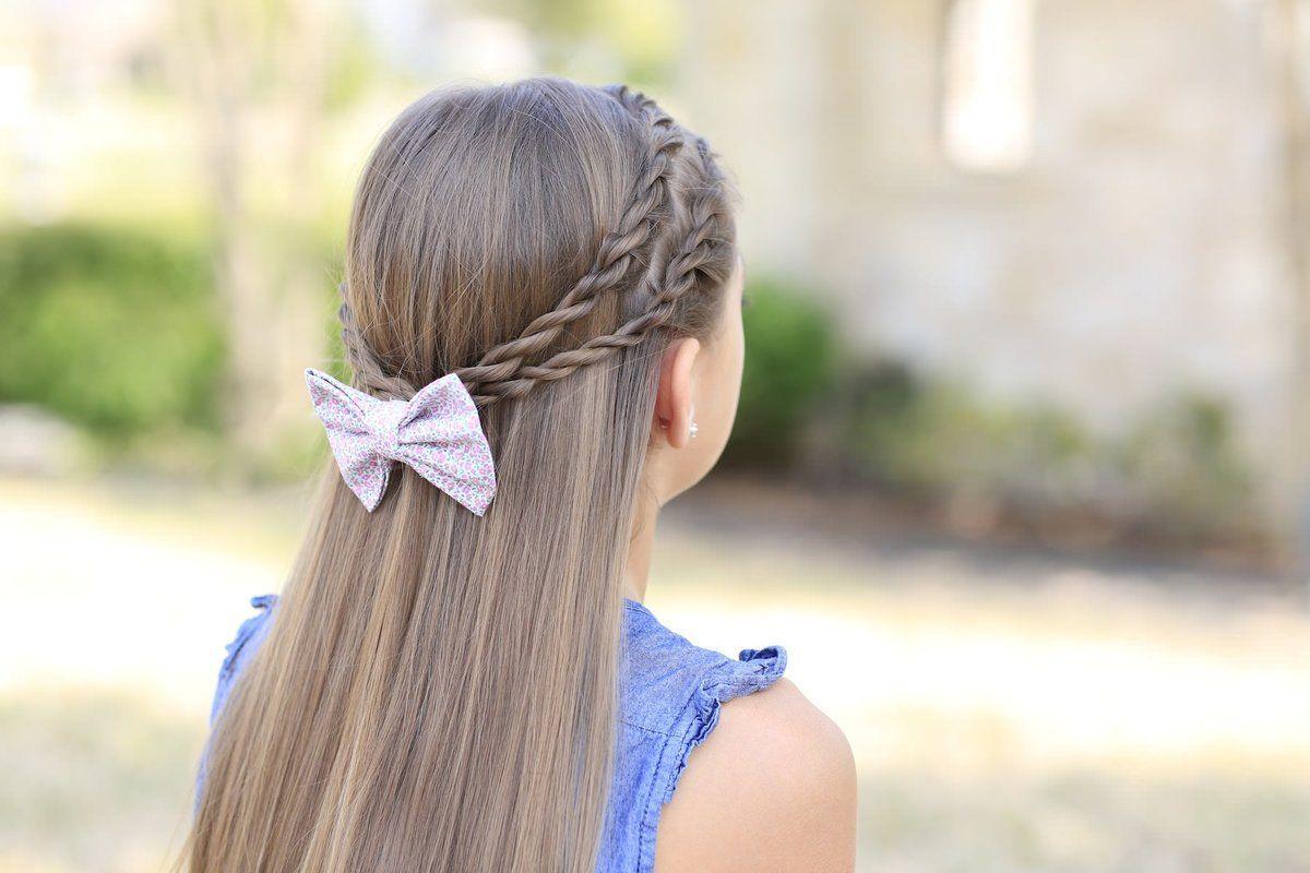 Прически для девочек на длинные волосы: 100 фото новых идей