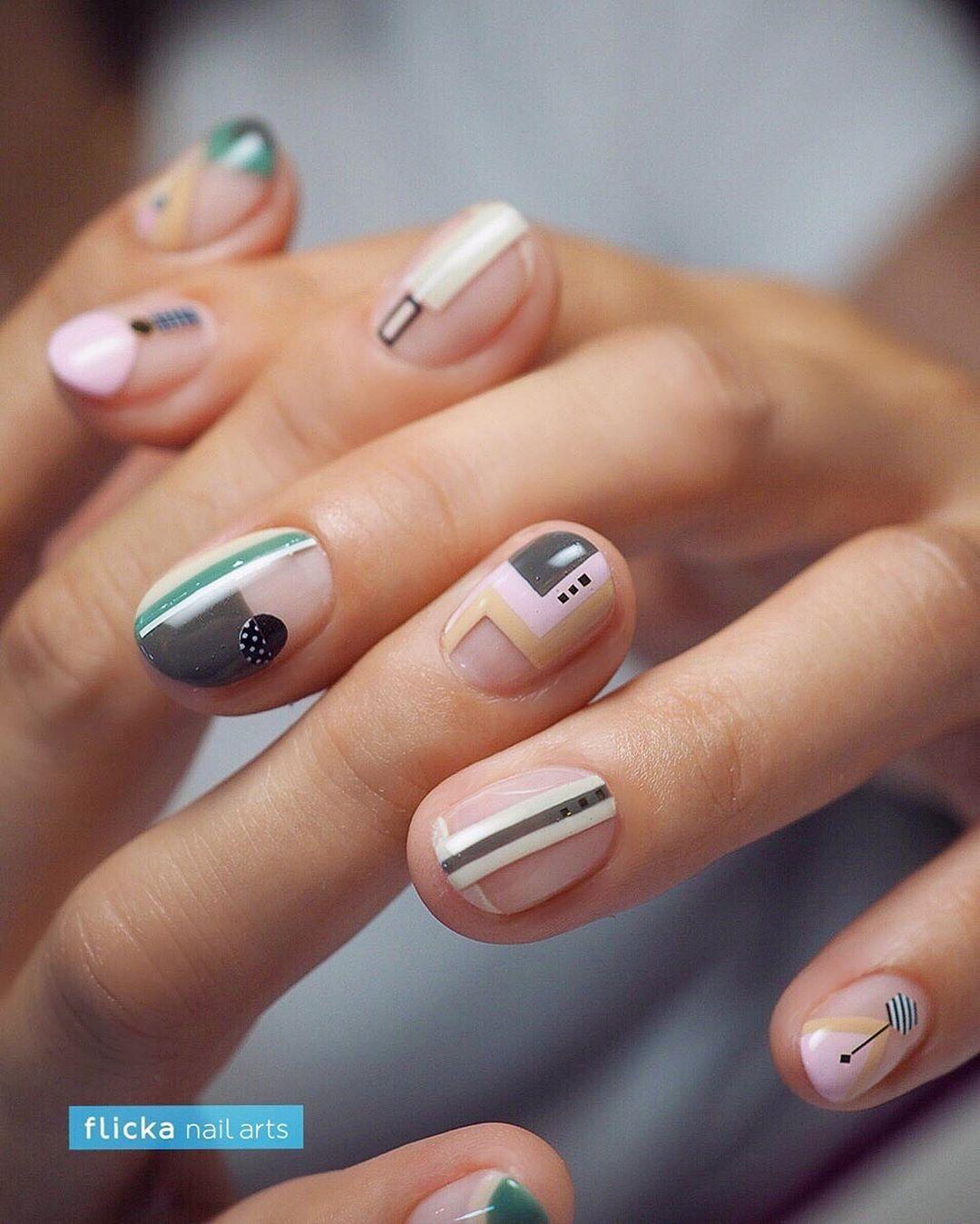 своем современные картинки на короткие ногти схожа для подвесных