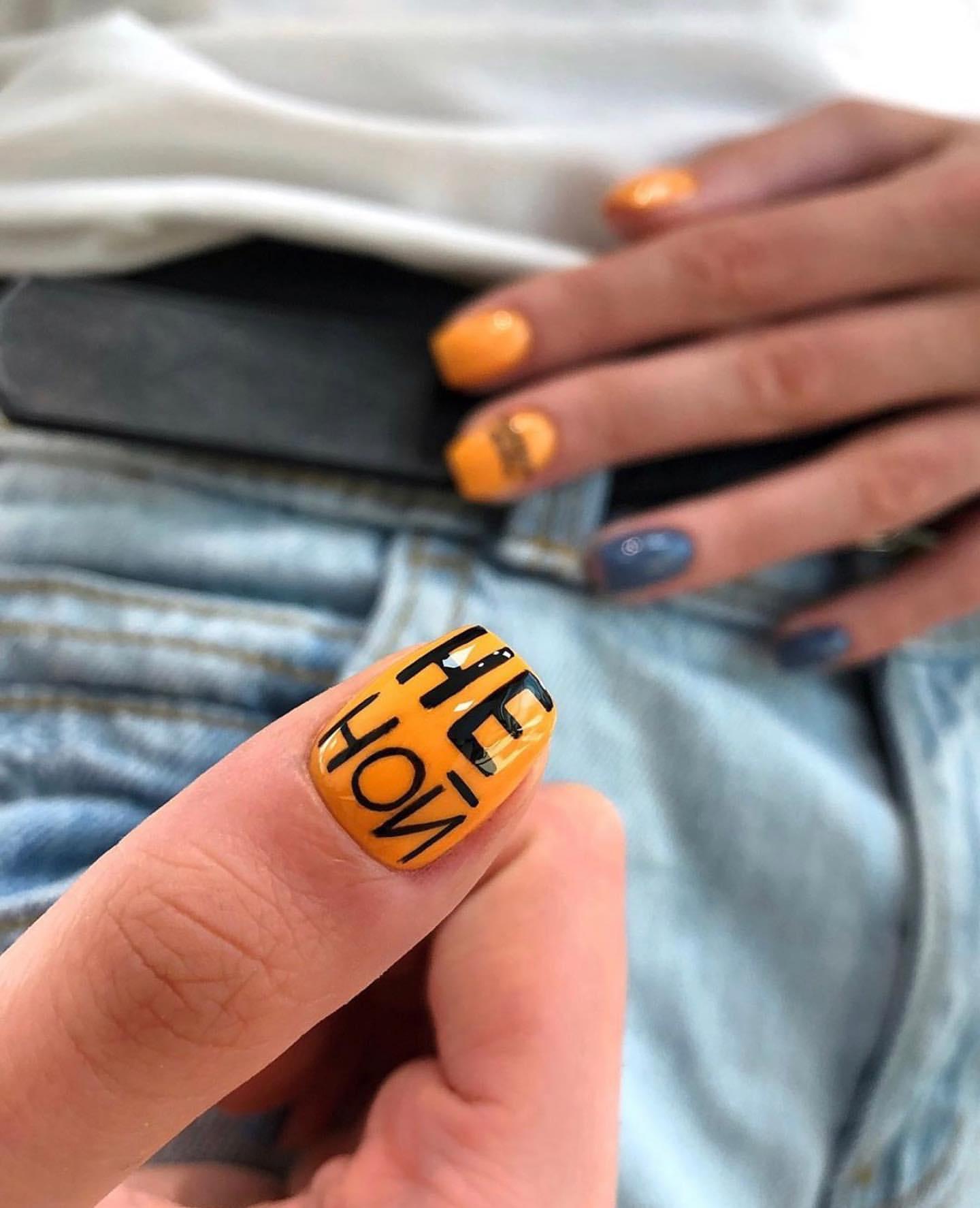 Стильный маникюр 2021 (100 фото): модные новинки и тенденции дизайна