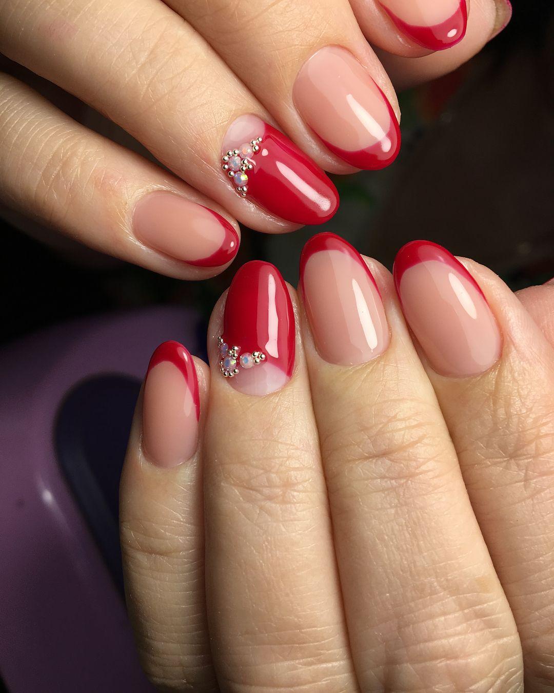 фото круглых ногтей с гель лаком молодого