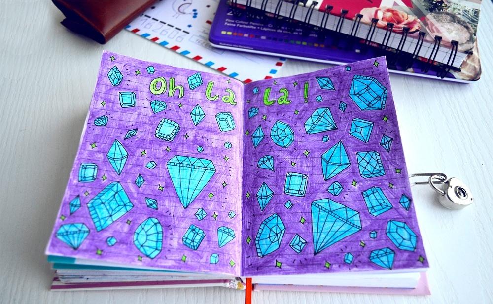 Идеи для своего дневника картинки