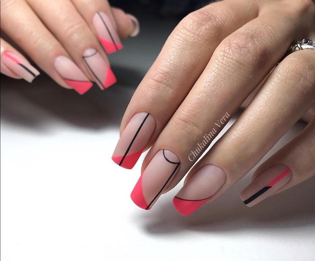 Модный маникюр 2021-2022 на длинные ногти: 105 фото, дизайн