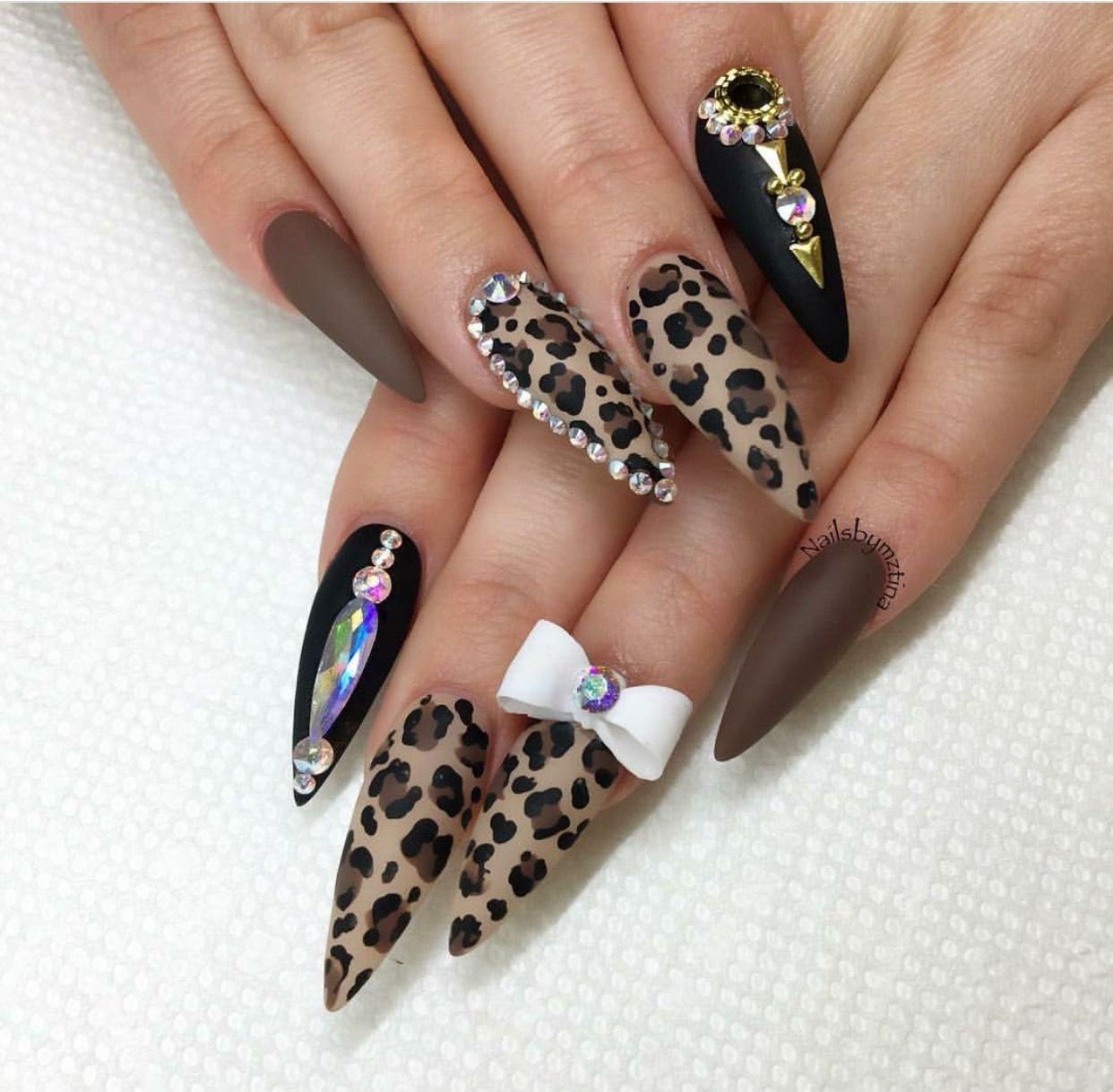 Leopard nails. With daily shares, posts, updates and ratings