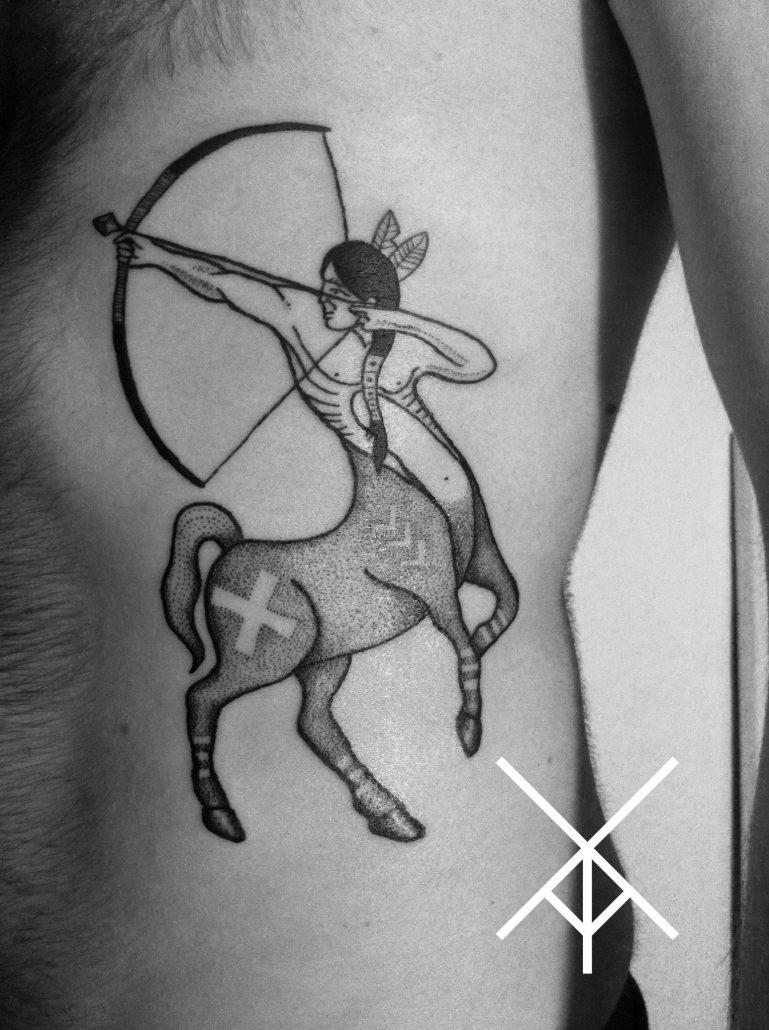 этот оренбург сделать тату стрельца фото леонид наделяет своего