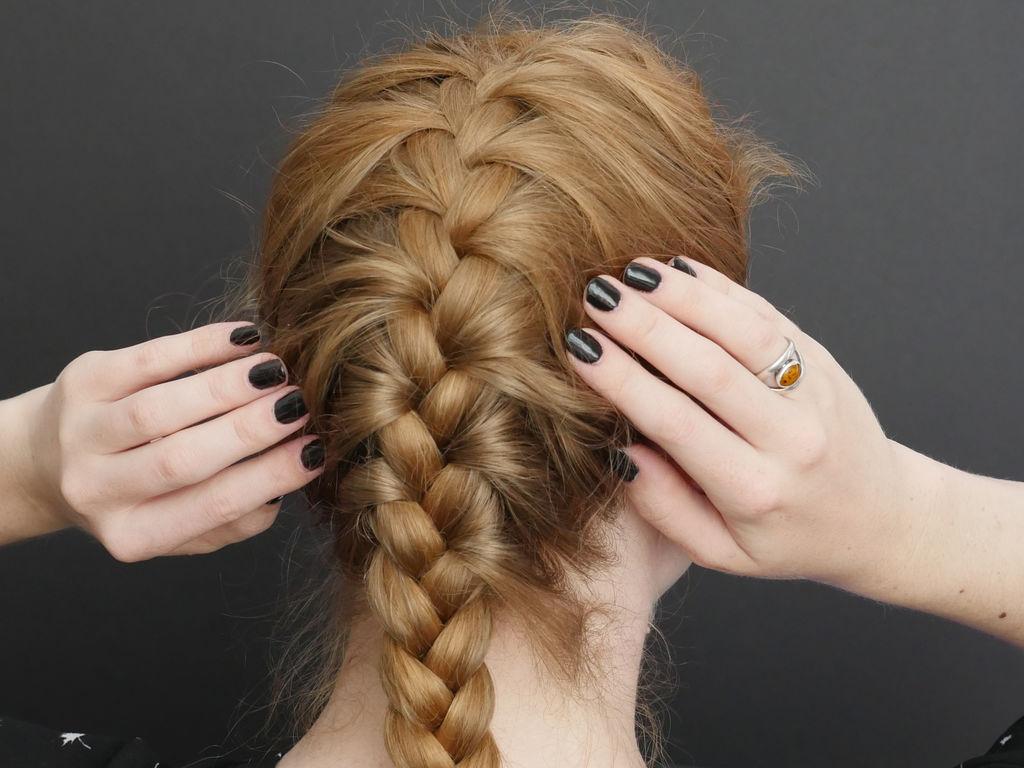 волосы в картинках плетение